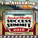 I'm attending Social Media Success Summit 2010