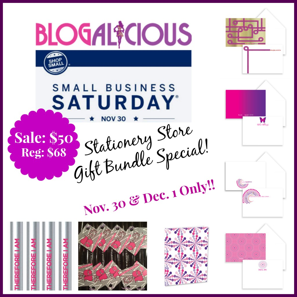 Blogalicious Small Business Saturday Special