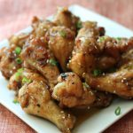 Super Bowl Party Soiree Recipe: Spicy Plum Wings by @Chewsylovers