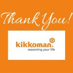 Thank You, Kikkoman!