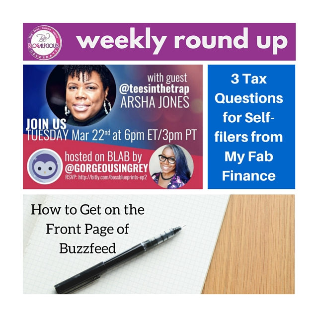3-16-16 - Blogalicious Weekly Round Up