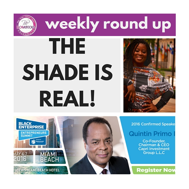 education and shade the weekly roundup blogalicious