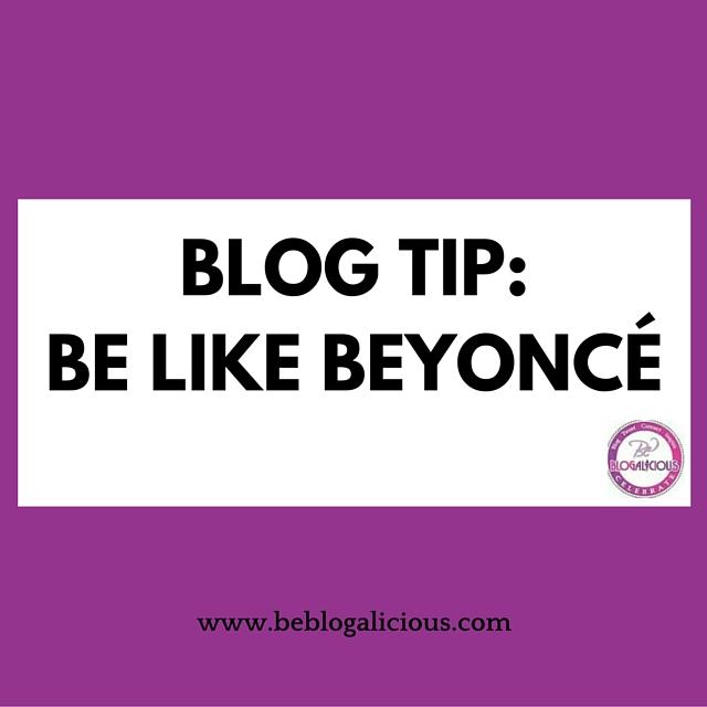 be like beyonce