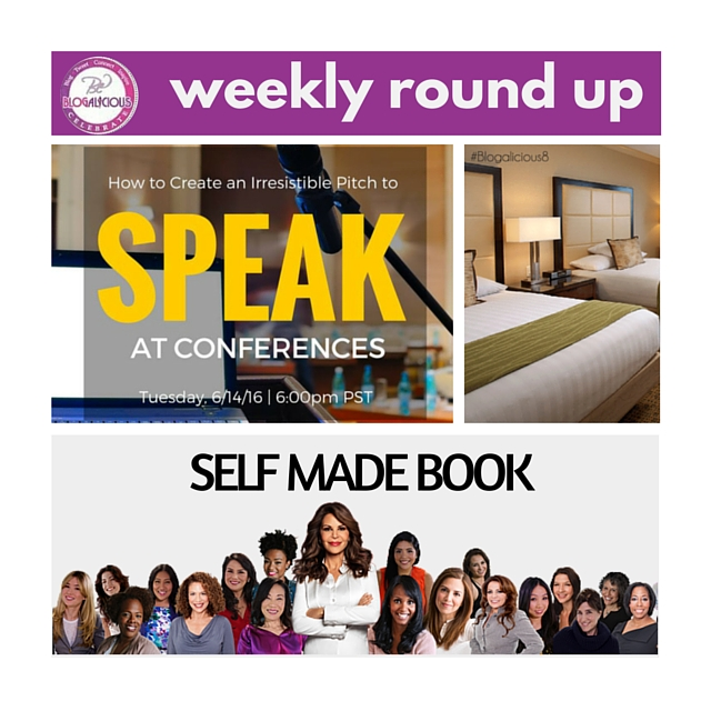 #WeeklyRoundUp -- Speak & Be Self Made