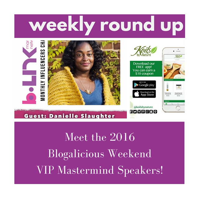 Weekly Round Up 7 27 16