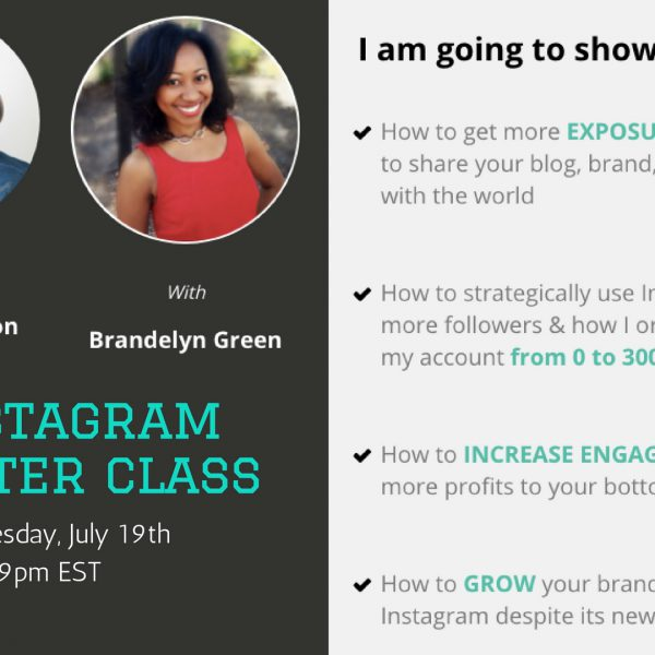 instagram master class blogalicious