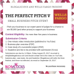 Blogalicious is Proud to Present the Perfect Pitch V Event sponsored by Wells Fargo #Blogalicious9