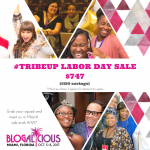 #TribeUp Blogalicious Weekend Labor Day Sale!